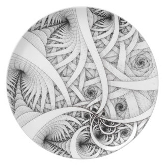"""""""Graphite Series: Follow the Leader"""" Plate"""