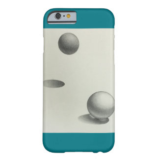 Graphite Sphere rendering Barely There iPhone 6 Case