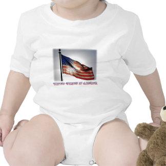 Graphiti Flag Bodysuit