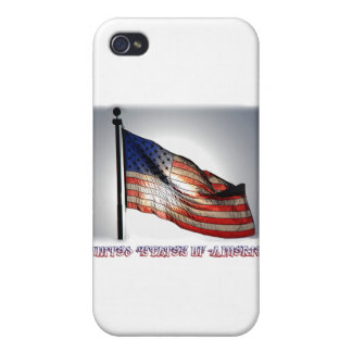 Graphiti Flag Covers For iPhone 4