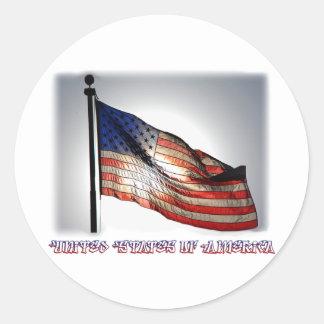 Graphiti Flag Stickers