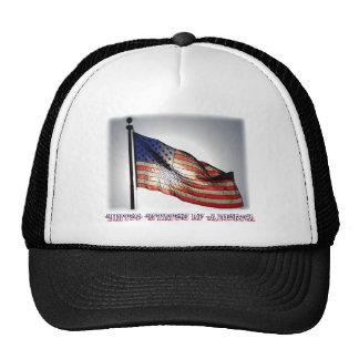 Graphiti Flag Trucker Hat