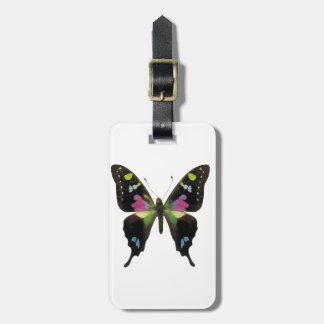 Graphium butterfly luggage tag