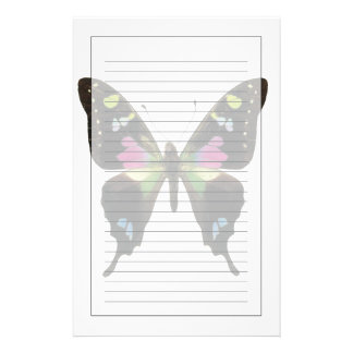 Graphium butterfly personalized stationery