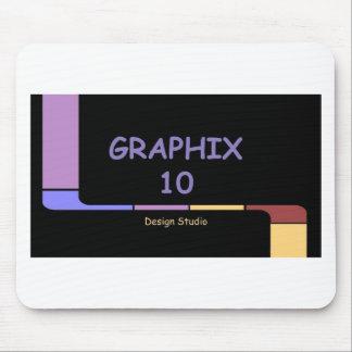 Graphix 10 Design Studio Logo Mouse Pad