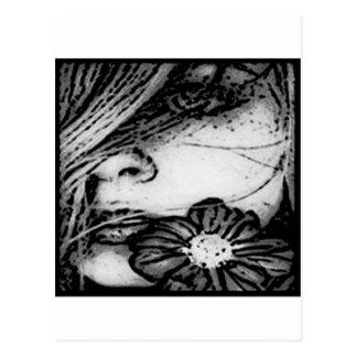 GRAPHIX GIRL 2.jpg Postcard