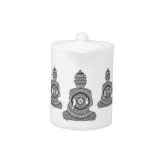 GraphiZen Buddha Teapot