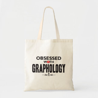 Graphology Obsessed Tote Bag