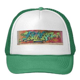 graphtiti trucker hat