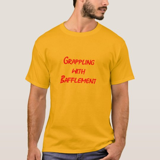 Grappling red text T-Shirt