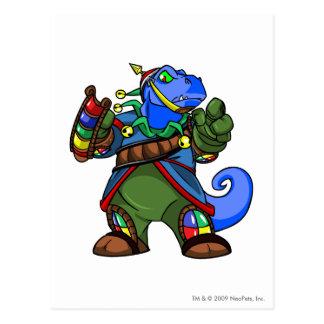 Grarrl Roo Island Player Postcard