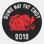 Grasa 2012 del heno de Gung Choy Etiquetas