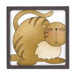 grasa del gatito cajas de joyas de calidad