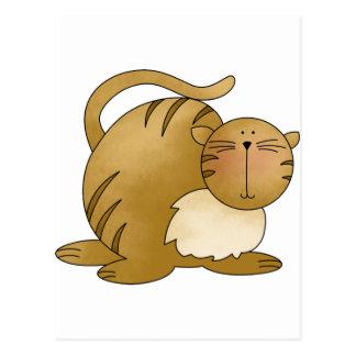 grasa del gatito postal