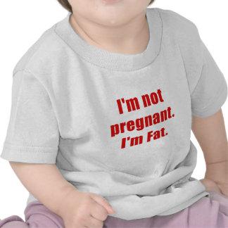 Grasa no embarazada Im Im Camisetas