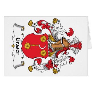 Graser Family Crest Greeting Card