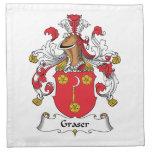 Graser Family Crest Napkins