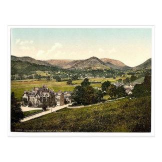 Grasmere, del hotel del Príncipe de Gales, lago Di Tarjetas Postales