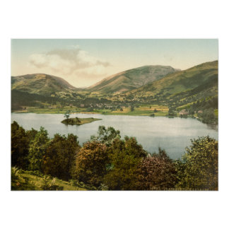 Grasmere III, distrito del lago, Cumbria, Inglater Póster
