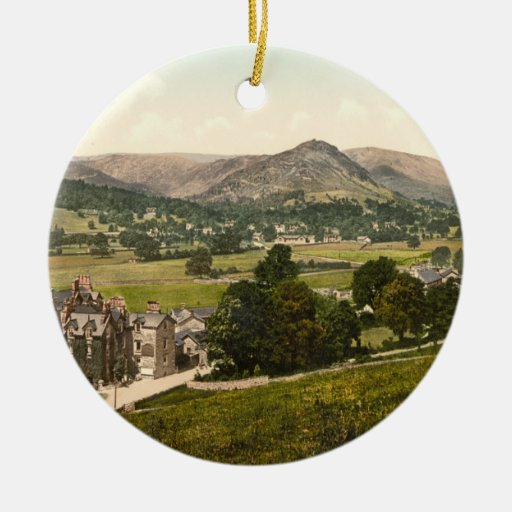 Grasmere, Lake District England Christmas Ornament