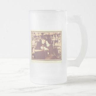Graso Arbuckle el error 1916 de su esposa Taza Cristal Mate