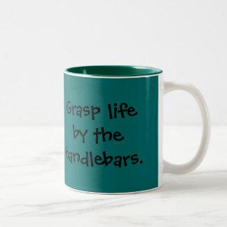 grasp life Two-Tone coffee mug