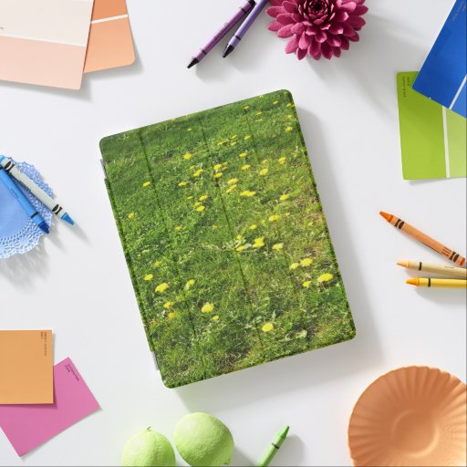 Grass and Dandelions iPad Smart Cover