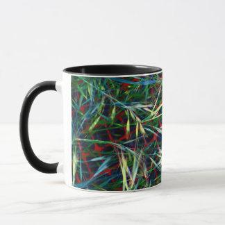 Grass and Plastic Mug