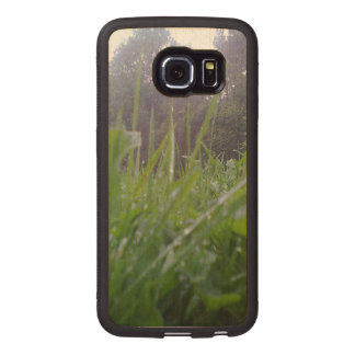 GRass and tree Wood Phone Case