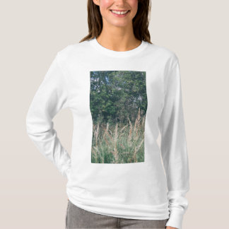 Grass And Trees Nature Pattern Tee Shirt