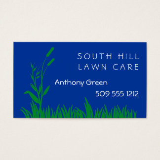 Grass and Weed Business Card