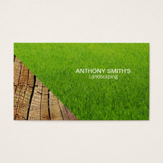 Grass and Wood 2 Business Card