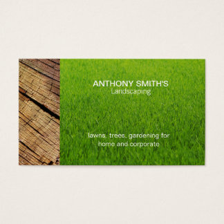 Grass and Wood Business Card
