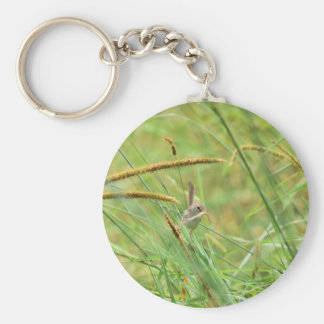 GRASS BIRD RURAL QUEENSLAND AUSTRALIA KEYCHAIN