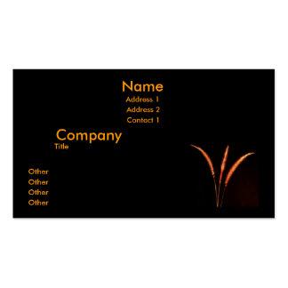 Grass Blades Business Card