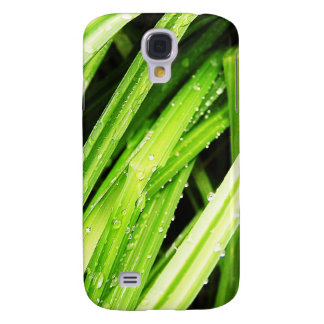 Grass Blades Nature Abstract Shapes Fashion style Galaxy S4 Cover