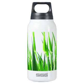 Grass Blades Nature Abstract Shapes Fashion style Insulated Water Bottle