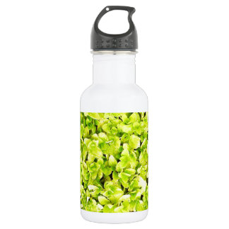 Grass Blades Nature Abstract Shapes Fashion style Stainless Steel Water Bottle