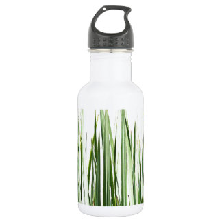 Grass Blades Nature Abstract Shapes Fashion style Water Bottle