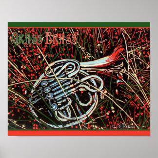 Grass Brass Poster