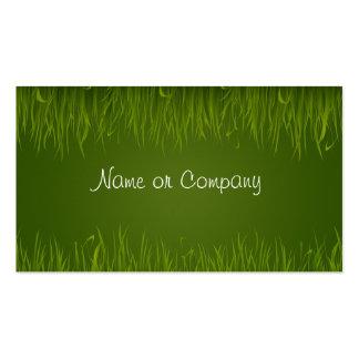 Grass Business Card Template