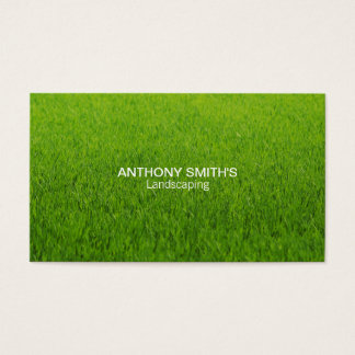 Grass Business Card