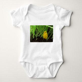 grass chick baby bodysuit