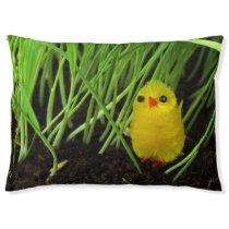 grass chick dog bed