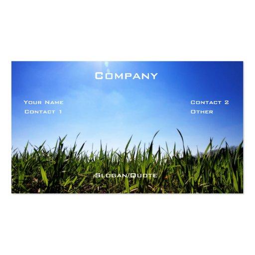 Grass Co. Business Card Templates