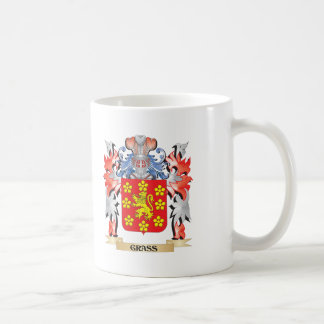 Grass Coat of Arms - Family Crest Coffee Mug