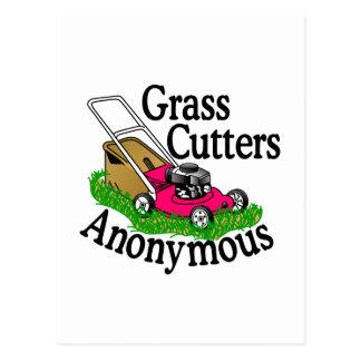 Grass Cutters Postcard