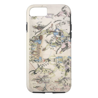 Grass dance (ink on paper) iPhone 8/7 case
