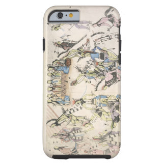 Grass dance (ink on paper) tough iPhone 6 case