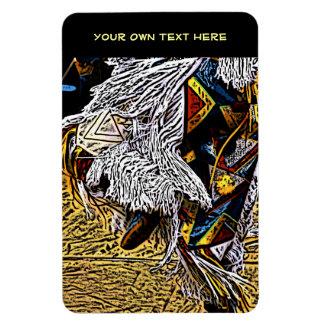 Grass Dancer 4x6 Flexi Magnet with Text